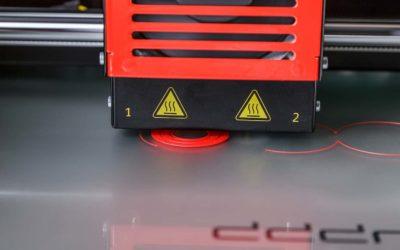 Printing a 3D model that sticks
